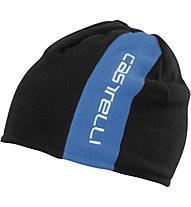 Castelli Reversible 2 Beanie Radmütze/Wendemütze, Drive Blue/Black