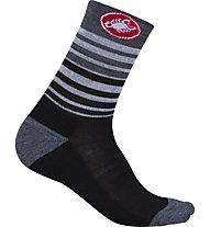 Castelli Righina 13 - Radsocken - Damen, Black