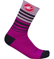 Castelli Righina 13 - Radsocken - Damen, Purple