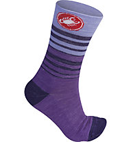 Castelli Righina 13 - Radsocken - Damen, Violet