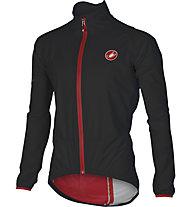 Castelli Riparo Rain - giacca antipioggia bici - uomo, Black