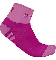 Castelli Rosa Corsa - calzini bici - donna, Pink