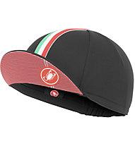 Castelli Rosso Corsa Cap - Radmütze, Black