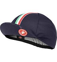 Castelli Rosso Corsa Cap - Radmütze, Blue