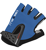 Castelli S. Rosso Corsa Glove, Drive Blue/Black