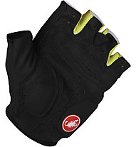 Castelli S2 Corsa W Glove - Guanti Ciclismo, Black/White/Lime