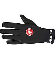 Castelli Scalda Glove Guanti ciclismo, Black