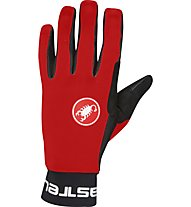 Castelli Scalda - guanti bici, Red/Black