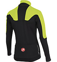 Castelli Secondo Strato Jersey FZ, Yellow Fluo/Black