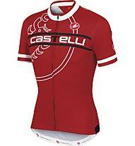 Castelli Segno Jesey FZ, Red