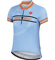 Castelli Segno Kid Jersey - maglia per bici bambino, Gulf Race