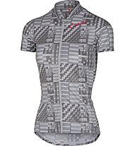 Castelli Sentimento Jersey - Radtrikot - Damen, Grey/Black