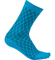 Castelli Sfida 13 - Radsocken - Damen, Light Blue