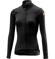 Castelli Sinergia - maglia bici a manica lunga - donna, Black