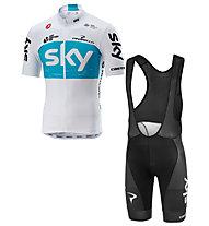 Castelli Sky Fan 18 - set maglia + pantaloni bici - uomo