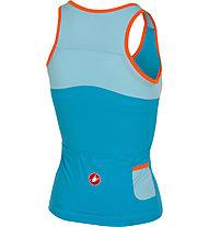 Castelli Solare - Top mit integriertem Sport-BH - Damen, Blue