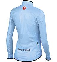 Castelli Giacca bici donna Sottile W Jacket, Drive Blue