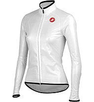 Castelli Sottile W Jacket Damen-Radjacke, Transparent White
