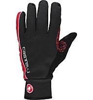 Castelli Spettacolo Glove - Radhandschuh Vollfinger, Black/Red
