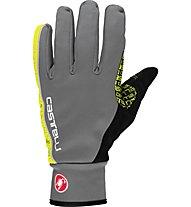 Castelli Spettacolo Glove - Radhandschuh Vollfinger, Grey/Yellow