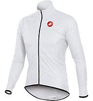 Castelli Squadra long Giacca antipioggia ciclismo, White