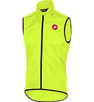 Castelli Squadra Long - gilet bici - uomo, Yellow