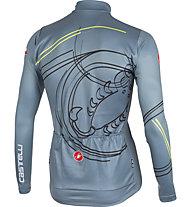 Castelli Stinger Jersey FZ - maglia bici, Blue Stone