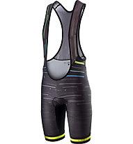 Castelli Tabula Rasa - pantaloni bici con bretelle - uomo, Black/Yellow