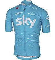 Castelli Team Sky 2017 Podio Jersey - maglia bici - uomo, Blue