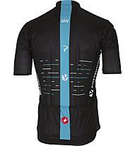 Castelli Team Sky 2017 Podio Jersey - maglia bici - uomo, Black