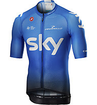 Castelli Team Sky 2019 Climber's 3.0 - Radtrikot - Herren, Blue