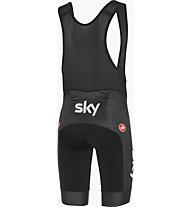 Castelli Team Sky 2019 Fan 19 - pantaloni bici - uomo, Black