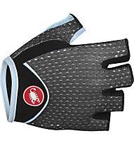 Castelli Tesoro W Glove Damen-Fahrradhandschuh, Black/Pale Sky