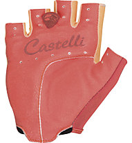 Castelli Tesoro W Glove, Light Orange/Coral