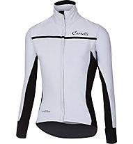 Castelli Trasparente 3 W FZ - maglia bici - donna, White