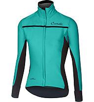 Castelli Trasparente 3 W FZ - maglia bici - donna, Light Blue