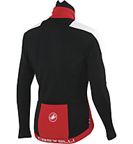 Castelli Trasparente Due Wind Jersey FZ, Red/Black/White