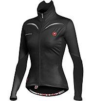 Castelli Trasparente W Jersey FZ - Maglia Ciclismo, Black