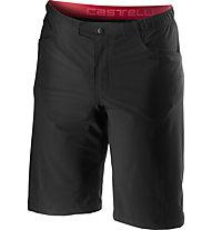 Castelli Unlimited Baggy - pantaloni corti da ciclismo - uomo, Black
