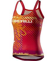 Castelli UPF 0 - top bici - donna, Orange