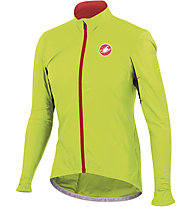 Castelli Giacca bici Velo, Yellow Fluo