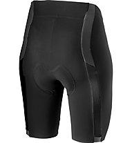 Castelli Velocissima 2 - pantaloni corti bici - donna, Black