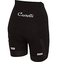 Castelli Velocissima - pantaloni bici - donna, Black