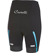 Castelli Velocissima Short - Radhose kurz - Damen, Black/Blue