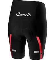 Castelli Velocissima - pantaloni bici - donna, Black/Pink