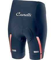 Castelli Velocissima - pantaloni bici - donna, Blue/Pink