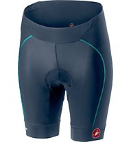 Castelli Velocissima - pantaloni bici - donna, Blue/Light Blue