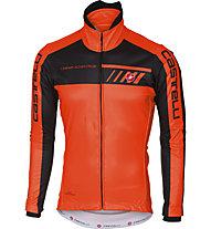 Castelli Velocissimo 2 - giacca bici - uomo, Orange/Black