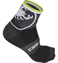 Castelli Velocissimo Giro 6 Sock, Anthracite
