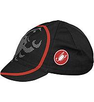 Castelli Velocissimo Giro Cap, Black/Red